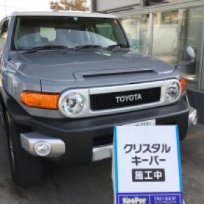 トヨタ・FJクルーザー